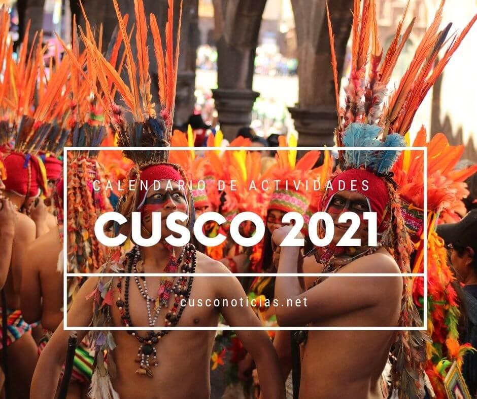 Calendario de festividades Cusco