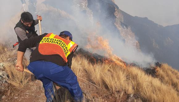 5 Incendios en Cusco