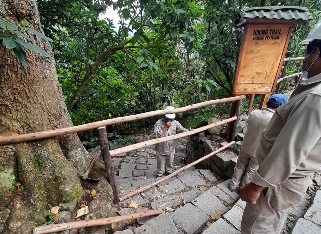 Acceso peatonal a Machu Picchu es cerrado