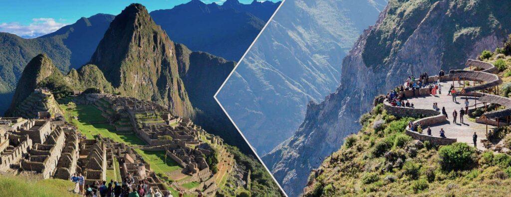Cusco y Arequipa, principales destinos