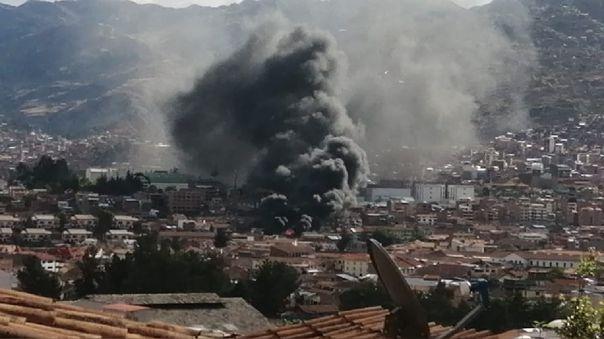 Incendio en Cusco 2020